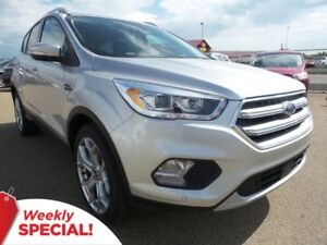2017 Ford Escape Titanium 4WD - SYNC Connect, Moonroof, Tow Pack