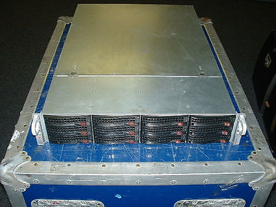 Supermicro 2U Server X8DTN+ 2x Xeon E5620 2.4ghz Quad Core  48gb  HW RAID