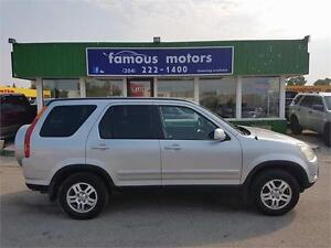 2004 Honda CR-V EX-L/LEATHER/SUNROOF/4WD/CLEAN TITLE!!