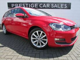 VOLKSWAGEN GOLF 2.0 GT TDI BLUEMOTION TECHNOLOGY 5d 148 BHP (red) 2014