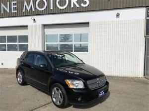 2007 DODGE CALIBER R/T AWD, HTD LEATHER, SUNROOF, CLEAN TITLE!