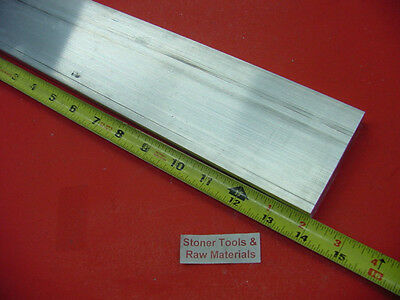 34 X 3-12 Aluminum 6061 T6511 Flat Bar 14 Long Solid Plate Mill Stock .75