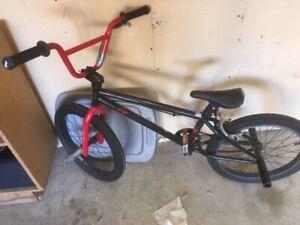 BMX bike - Youth size.  with Helmet