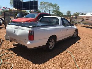 2001 Holden Commodore  White 4 Speed Automatic Utility Hidden Valley Darwin City Preview