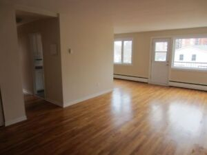 2 bedroom apt, july 1, quiet professional blg, south end.