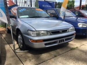 1997 Toyota Corolla AE102R Conquest Silver Automatic Sedan West Ryde Ryde Area Preview