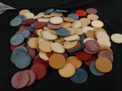 Vintage Clay Poker Chips (Over 130)