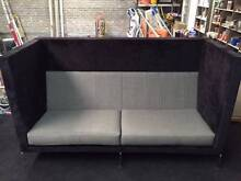 3 X OFFICE MEETING HIGH BACK SOFAS Taren Point Sutherland Area Preview