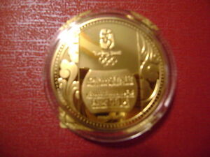 Beijing Olympics 2008 8 days to go Commemorative Medallion Peterborough Peterborough Area image 2
