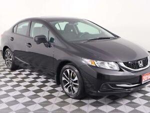 2014 Honda Civic Sedan w/HEATED SEATS, MOONROOF, REAR CAMERA, LO