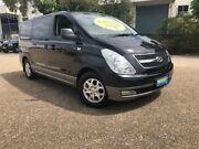 2012 Hyundai iMAX TQ-W MY12 Black 5 Speed Automatic Wagon Woodridge Logan Area Preview