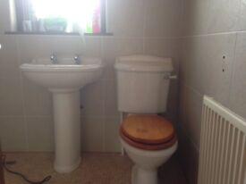 Royal Doulton Toilet and wash hand basin