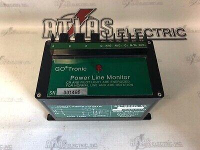 Go 513100 Power Line Monitor 240v Gotronic