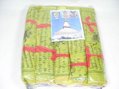 5 Rollen Tibet Gebetsfahnen M ca. 20 cm 125 Flags