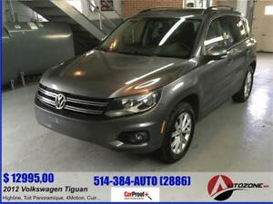 2012 Volkswagen Tiguan Highline 4MOTION/TOIT PANORAMIQUE/CUIR
