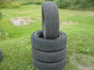 Four 275-65-18 tires $220.00