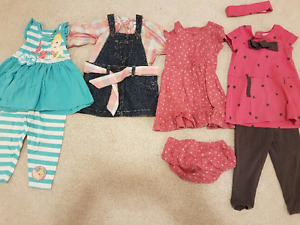 12-18 months girls Spring/Summer lot
