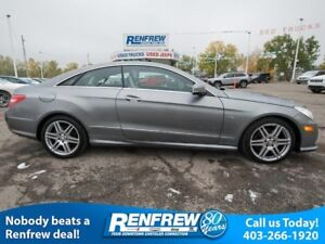 2012 Mercedes-Benz E-Class 2dr Cpe E 350 RWD, Panoramic Sunroof,