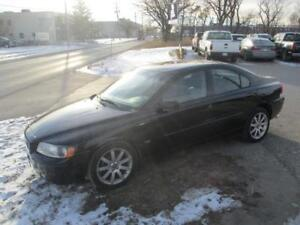 2006 VOLVO S60 AWD,HEATED LEATHER,SUNROOF SAFETY&WARRANTY $6,450