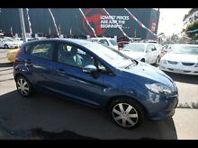 2009 Ford Fiesta WS LX Blue 4 Speed Automatic Hatchback Kingsville Maribyrnong Area Preview
