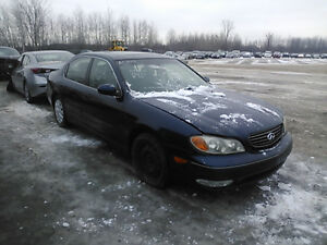 INFINITI  I30& I35 (FOR PARTS 2000/2005 PARTS ONLY)