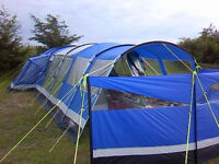 Outwell Imagine 6 Berth Tent with awning and front extension