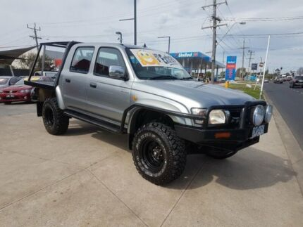 2003 Toyota Hilux VZN167R SR5 (4x4) 5 Speed Manual Dual Cab Pick-up