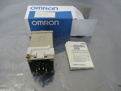 Omron E5C2-R20K Temperature Controller, 100/110 VAC, 50/60 HZ, CPX0040,  424499