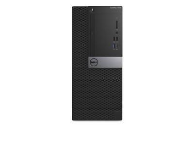 Dell Optiplex 7050 Intel Core i7-6700 X4 3.4GHz 4GB 256GB SSD Win10, Black (Cert