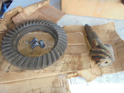 JEEP WILLYS FC170 NOS SPICER 4:88 REAR RING AND PINION SET 908331
