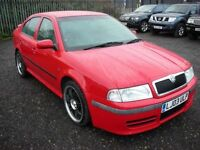 SKODA OCTAVIA 1.8 VRS TURBO 180 BHP 5 SPEED (red) 2003