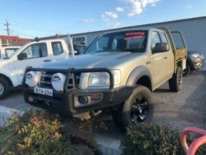 2008 Ford Ranger PJ 07 Upgrade XL (4x4) Gold 5 Speed Manual Dual Cab Chassis Clyde Parramatta Area Preview