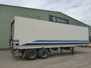 1999 FTE Dual Axle Refrigerated Pantech Hexham Newcastle Area Preview