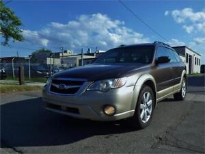 08 SUBARU OUTBACK 2.5 AWD! L.L. BEAN EDITION! CERTIFIED!