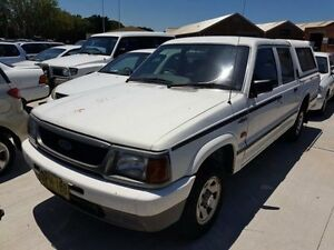 1996 Ford Courier White 5 Speed Manual Crewcab Georgetown Newcastle Area Preview