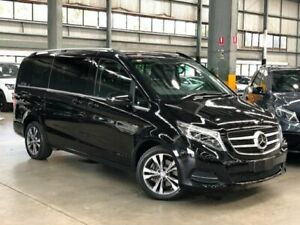 2016 Mercedes-Benz V250 447 d Avantgarde Wagon 7st 5dr 7G-TRONIC + 7sp 2.1DTT (Jul)  Black Port Melbourne Port Phillip Preview