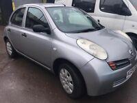 2004 Nissan Micra 1.2 5 Door Hatchback ***SPARES OR REPAIRS***