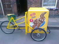 icecream bike tricycle