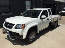 2009 Holden Colorado RC MY09 LX (4x2) White 4 Speed Automatic Cab Chassis Mortdale Hurstville Area Preview