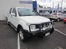 2007 Nissan Navara D40 ST-X White 6 Speed Manual Utility Alexandra Headland Maroochydore Area Preview