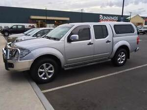 Nissan Navara Dual Cab Ute 4WD 2012 Bracknell Meander Valley Preview