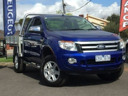 2013 Ford Ranger Blue Sports Automatic Utility