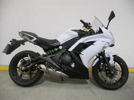 """Kawasaki ER6F """"65 Plate"""" Great First Big Bike"""