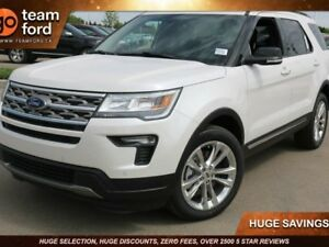2018 Ford Explorer XLT, 201A, 4WD, NAV, SYNC3, SYNC CONNECT, BLK