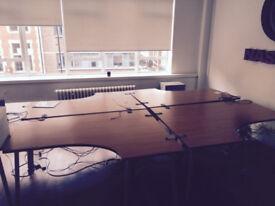 Office Herman Miller large desk (Delivery)