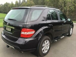 2006 Mercedes-Benz ML W164 320 CDI (4x4) Black 7 Speed Automatic G-Tronic Wagon
