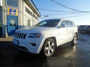 2014 Jeep Grand Cherokee Overland 5.7L 8cyl Hemi 8spd Speed Auto