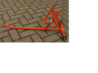 Motor Cycle Front paddock stand in excellent as new condition.