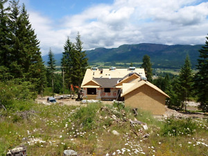NEW HOUSE AND ACREAGE FOR SALE-299 Oxbow Place, Enderby