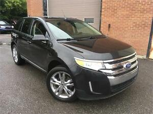 FORD EDGE 2012 LIMITED/AUTO/AC/GPS/CAMERA RECUL/BLUETOOTH/USB